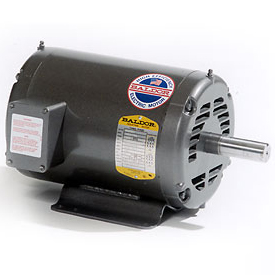 1HP BALDOR 1725RPM 143T OPEN 3PH MOTOR M3116T