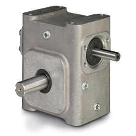 ELECTRA-GEAR EL-B824-7.5-L ALUMINUM RIGHT ANGLE GEAR REDUCER EL8240002