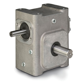 ELECTRA-GEAR EL-B824-7.5-D ALUMINUM RIGHT ANGLE GEAR REDUCER EL8240026