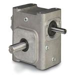 ELECTRA-GEAR EL-B842-40-L ALUMINUM RIGHT ANGLE GEAR REDUCER EL8420008