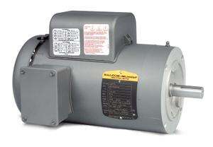 3HP BALDOR 1725RPM 184TC TEFC 1PH MOTOR VL3609T