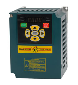 BALDOR VS1MD25 5HP 230VAC Microdrive