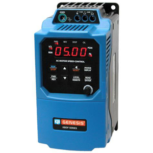 1HP KBDF-24P IP-20 VFD 230VAC 3PH INPUT KB 9695