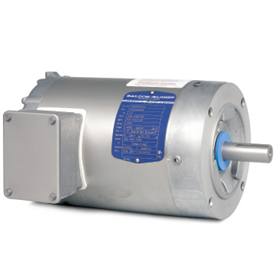 1HP BALDOR 1740RPM 143TC TENV 3PH MOTOR VSWDM3546T