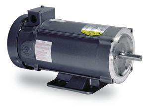 3/4HP BALDOR 1750RPM 56C TEFC 180VDC MOTOR CDP3436
