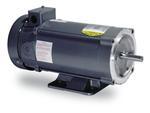1HP BALDOR 1750RPM 56C TEFC 180VDC MOTOR CDP3455