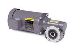 1/2HP BALDOR 87RPM TEFC RIGHT ANGLE GEARMOTOR GHM35020