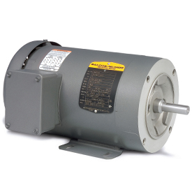 2HP BALDOR 3450RPM 145TC TEFC 3PH MOTOR CM3555T