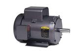 2HP BALDOR 1725RPM 182T TEFC 1PH MOTOR L3605T