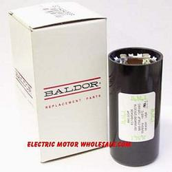 BALDOR EC1130A02SP Starting Capacitor, 130-156UF, 125V