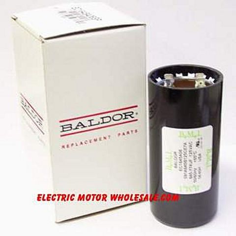 Baldor ec1540a06 starting capacitor for Electric motor capacitor replacement