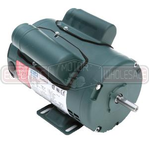 1/2HP LEESON 1725RPM 48 DP 1PH ECOSAVER MOTOR E100338.00