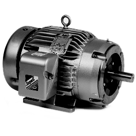 5HP BALDOR 1750RPM 184TC TEFC 3PH MOTOR CM3665T