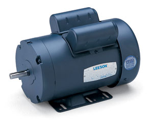 1HP LEESON 1140RPM 145T TEFC 1PH MOTOR 120043.00