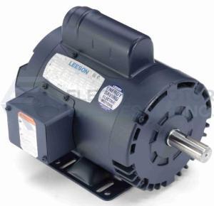 1.5HP LEESON 3600RPM 143T 115/208-230V ODP 1PH MOTOR 120107.00