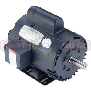 1.5HP LEESON 3450RPM 143T DP 1PH MOTOR 120107.00