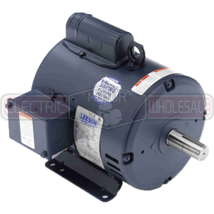 2HP LEESON 1740RPM 182T DP 1PH MOTOR 131536.00