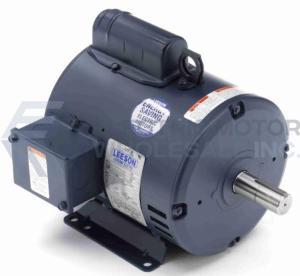 3HP LEESON 3600RPM 182T ODP 115/208-230V 1PH MOTOR 131636.00