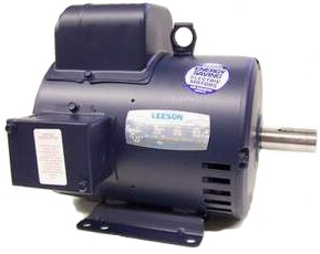 5HP LEESON 1740RPM 184T DP 1PH MOTOR 131537.00