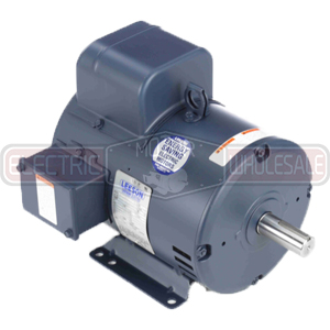 5HP LEESON 1740RPM 184T DP 1PH 208VAC MOTOR 131560.00