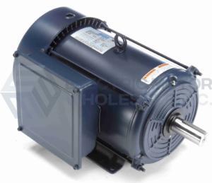 10HP LEESON 3600RPM 215T ODP 208-230V 1PH MOTOR 140681.00