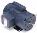 2HP LEESON 3600RPM 145T TEFC 115/208-230V 1PH MOTOR 120036.00