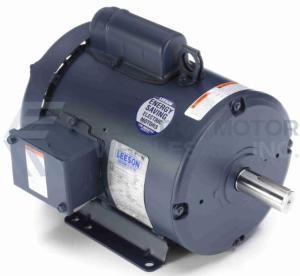 3HP LEESON 1800RPM 184T TEFC 115/208-230V 1PH MOTOR 131533.00