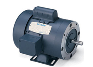 1.5HP LEESON 3450RPM 56C TEFC 1PH MOTOR 110909.00