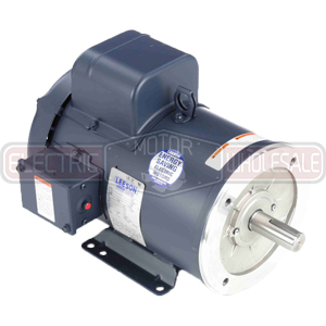 5HP LEESON 3500RPM 184TC TEFC 1PH MOTOR 131632.00