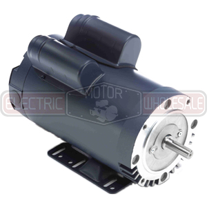 3HP LEESON 3450RPM 182TC DP 1PH MOTOR 132083.00