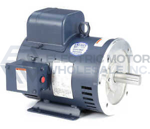 3HP LEESON 1800RPM 184TC ODP 115/230V 1PH MOTOR 131629.00