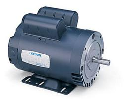 5HP LEESON 3450RPM 56HC DP 1PH MOTOR 116709.00
