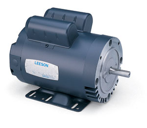 5HP LEESON 3450RPM 184TC DP 1PH MOTOR 131781.00