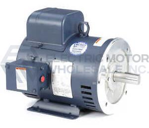 5HP LEESON 1800RPM 184TC ODP 208-230V 1PH MOTOR 131630.00