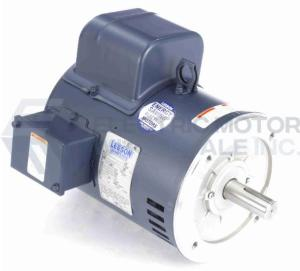 5HP LEESON 1800RPM 184TC ODP 208-230V 1PH MOTOR 131539.00