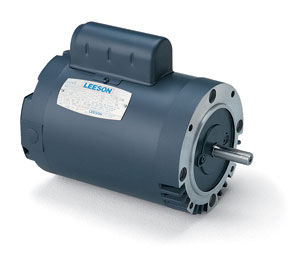 1/3HP LEESON 3450RPM 56C TENV 1PH MOTOR 102873.00