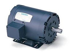 3HP LEESON 1740RPM 56HZ DP 3PH MOTOR 116595