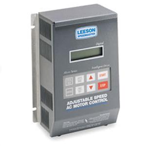 3HP LEESON MICRO SERIES VFD 200-230V 1PH INPUT 174934 00