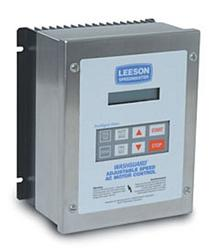 10HP LEESON MICRO STAINLESS VFD 480-590V 3PH INPUT 174761.00