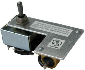 KBPC/KBPW Forward-Brake-Reverse Mechanical Switch Kit 9339