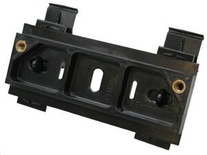 "KB Din Rail Mounting Kit for ""L"" Bracket Controls 9995"
