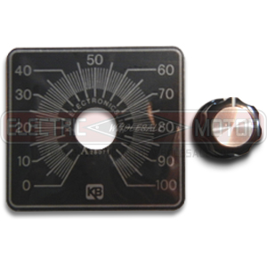 KB Knob and Dial Kit (Small Dial Plate) 9815