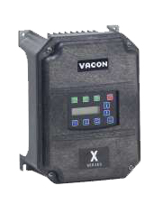VACON 3HP X4C2S050C X4 VFD 200-230VAC 1PH DRIVE