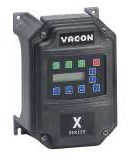 VACON 1/2HP X5C20010C X5 VFD 200-230VAC 3PH DRIVE