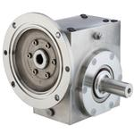 GROVE SS-BMQ821-7.5-D-140 STAINLESS STEEL RIGHT ANGLE GEAR REDUCER S213009800