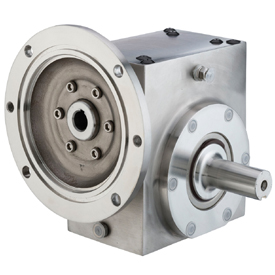 GROVE SS-BMQ821-40-D-140 STAINLESS STEEL RIGHT ANGLE GEAR REDUCER S213010400