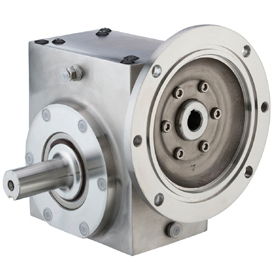 GROVE SS-BMQ824-60-L-140 STAINLESS STEEL RIGHT ANGLE GEAR REDUCER S243004600