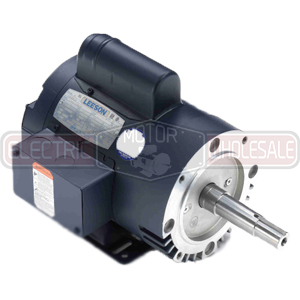 2HP LEESON 1740RPM 182JM DP 1PH MOTOR 132073.00
