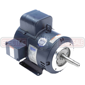 5HP LEESON 1740RPM 184JM DP 1PH MOTOR 131605.00