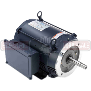 10HP LEESON 3465RPM 215JM DP 1PH MOTOR 140644.00